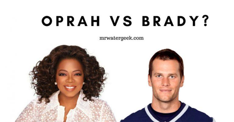 Oprah Winfrey vs Tom Brady: Water Habits Compared