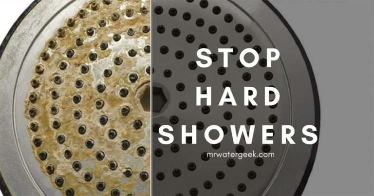 Water Softener Shower Head – How To STOP Hard Showers ($50 or Less)
